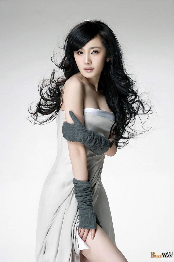 Gorgeous New Season Nail Art Ideas: Yang Mi Gorgeous New Generation Chinese Actress -【Buzz Girls】